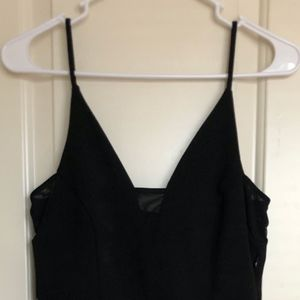 Express LBD with mesh cutouts size XS